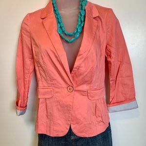 Salmon Coloured Blazer